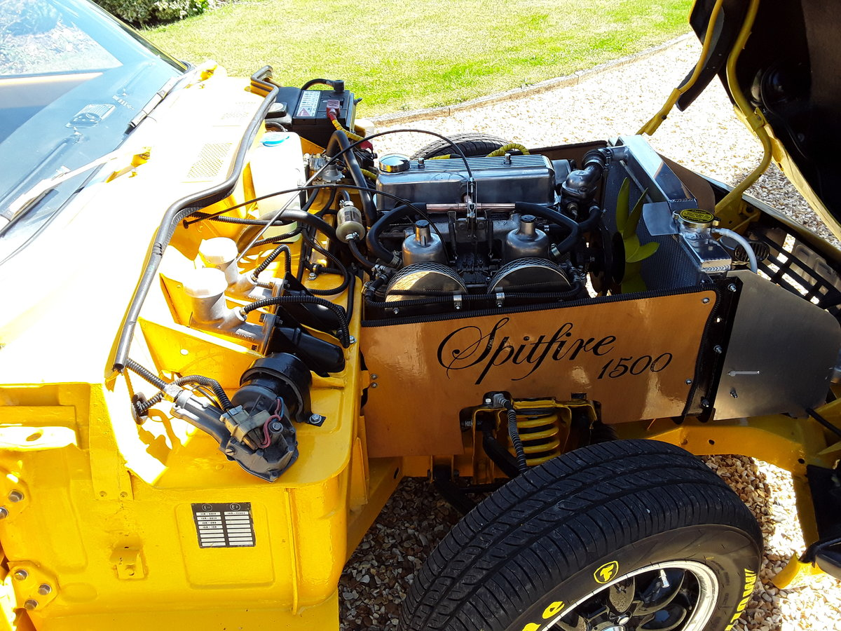 1976 Triumph spitfire 1500 with overdrive SOLD (picture 4 of 6)