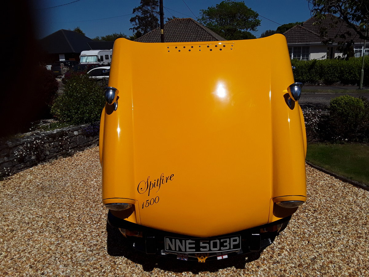 1976 Triumph spitfire 1500 with overdrive SOLD (picture 6 of 6)