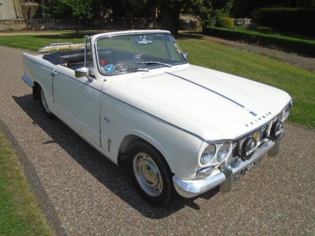 1965 Triumph Vitesse 6, Convertible Mk1 1600cc For Sale (picture 1 of 6)