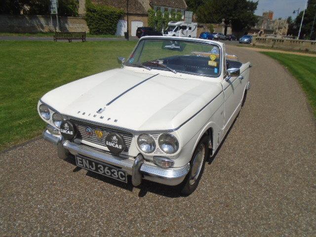 1965 Triumph Vitesse 6, Convertible Mk1 1600cc For Sale (picture 2 of 6)