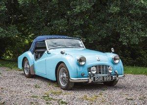 1957 Triumph TR3 For Sale by Auction