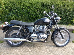 2001 Triumph T100 Bonneville SOLD