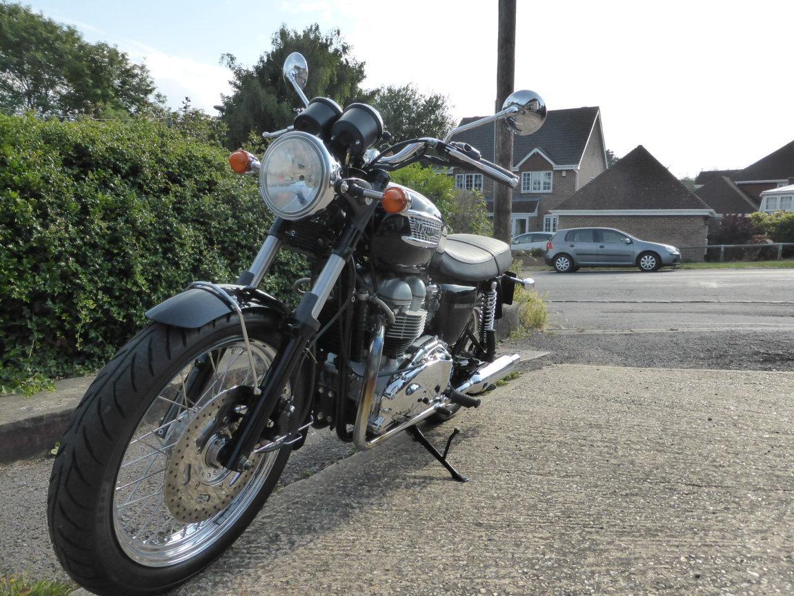2001 Triumph T100 Bonneville SOLD (picture 3 of 5)