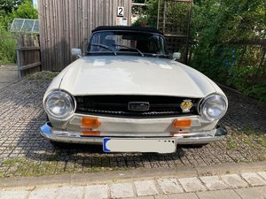 AMAZING TR6 PI FROM ONLY 2 OWNERS - RHD IN GERMANY