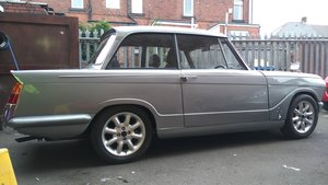 triumph herald. tastefully modified