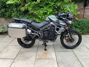 Triumph Tiger 800 XCA, Low Mileage, Exceptional Condition