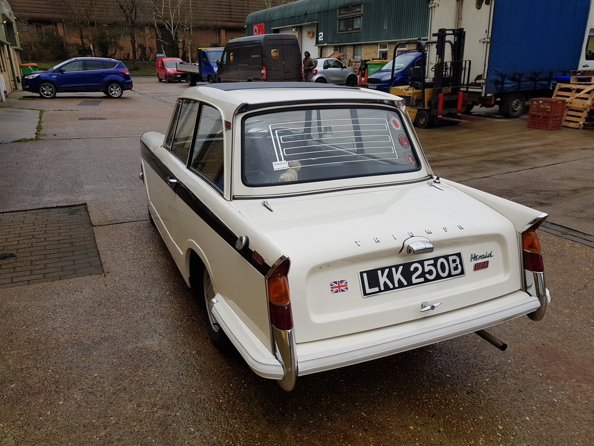 1964 Triumph Herald 12/50 Saloon for auction 16th -17th July SOLD by Auction (picture 1 of 5)