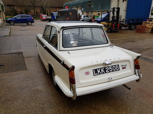 Picture of 1964 Triumph Herald 12/50 Saloon for auction 16th -17th July SOLD by Auction
