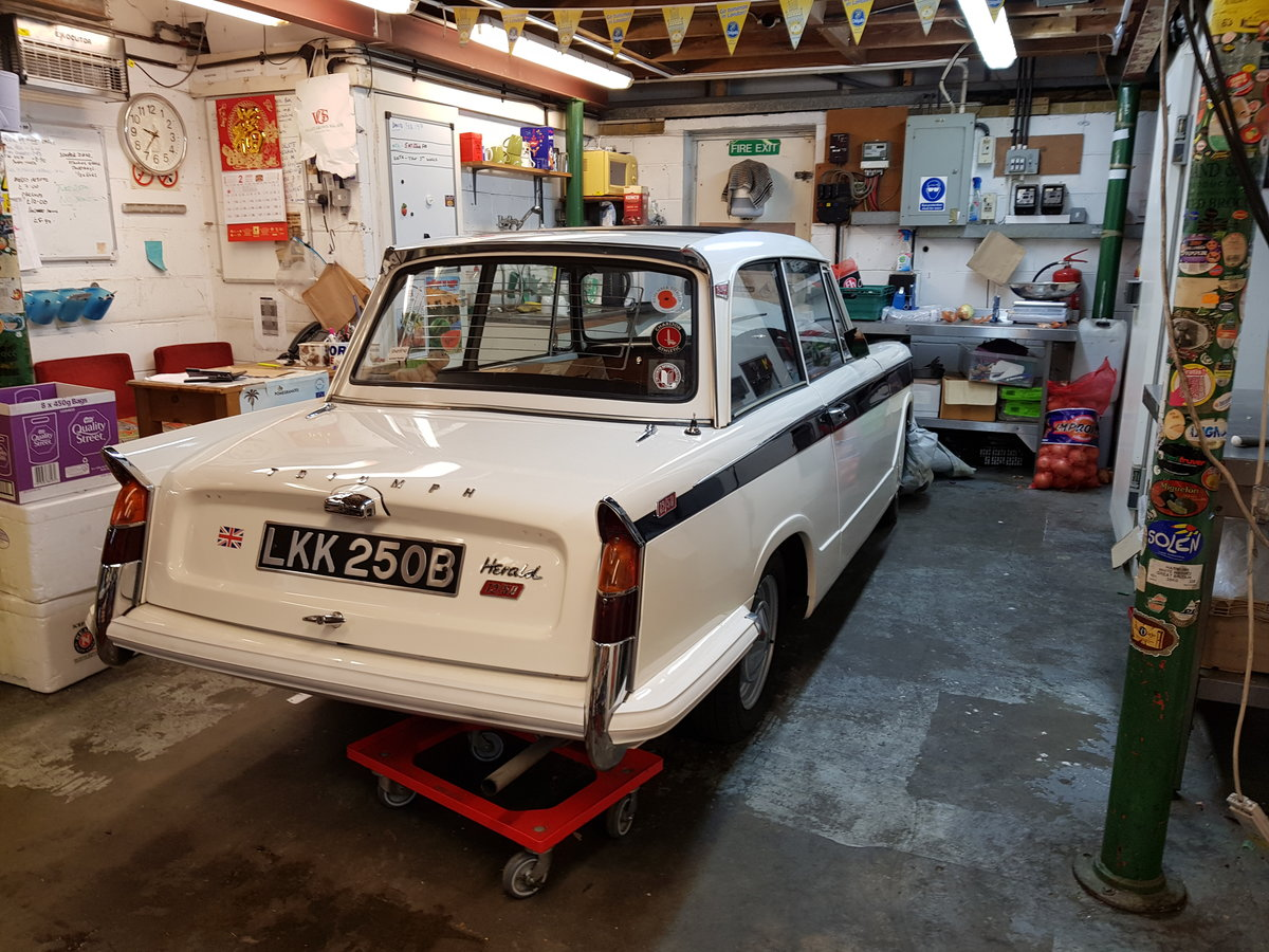 1964 Triumph Herald 12/50 Saloon for auction 16th -17th July SOLD by Auction (picture 2 of 5)