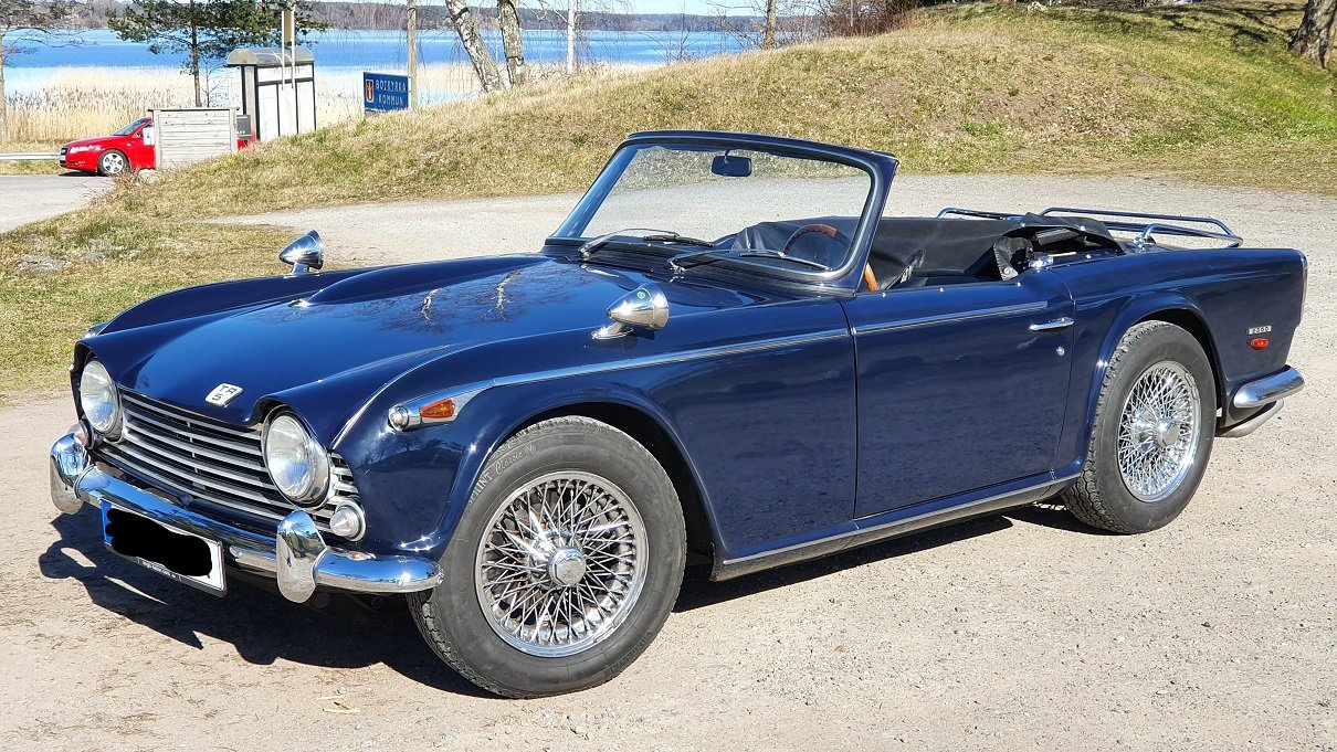 1968 Original LHD Triumph TR5 PI - Priced to Sell SOLD (picture 1 of 6)