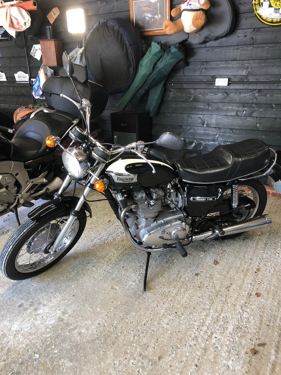 1971 Triumph TRIDENT T150 For Sale (picture 1 of 6)