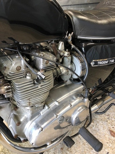 1971 Triumph TRIDENT T150 For Sale (picture 2 of 6)