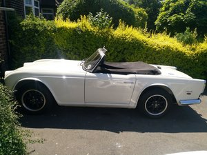 1967 Fully overhauled Triumph TR5 - yes it's a UK TR 5!