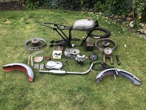 1959 Triumph tiger cub project