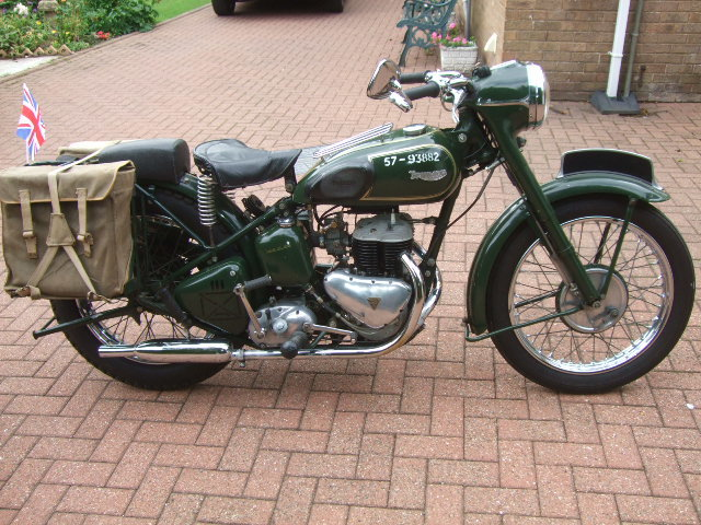 1956 Military Triumph TRW For Sale (picture 1 of 6)
