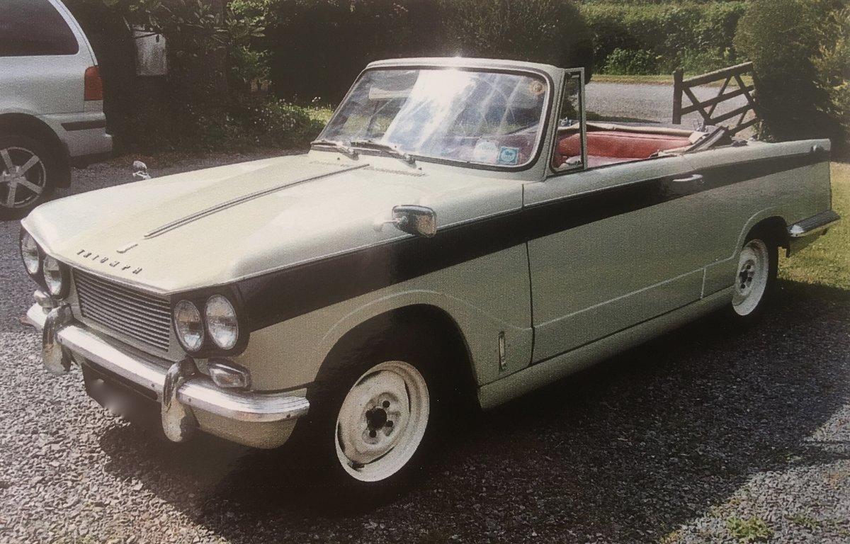 1964 Triumph vitesse convertible  SOLD (picture 1 of 6)