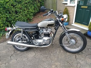 Triumph bonneville jubilee exceptional condition.