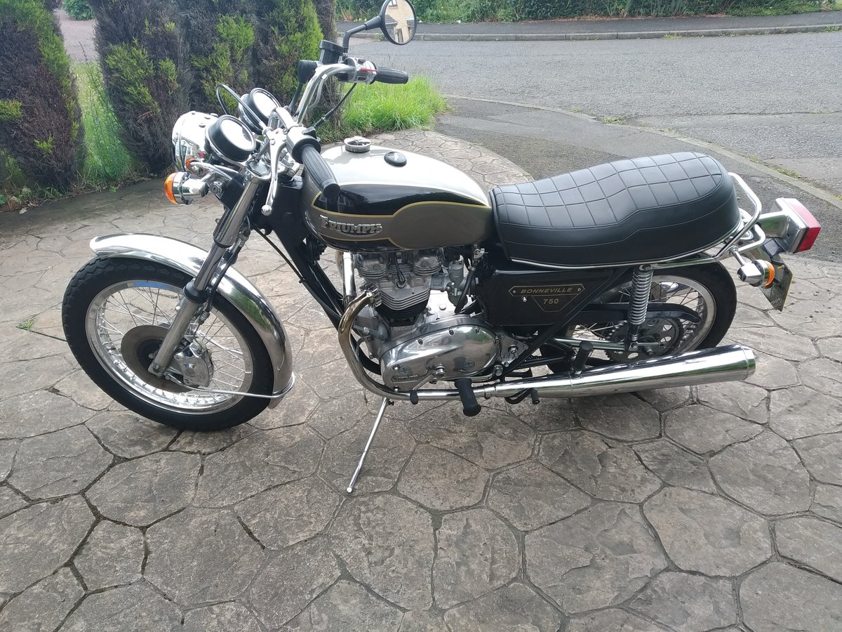 1977 Triumph bonneville jubilee exceptional condition. For Sale (picture 2 of 6)