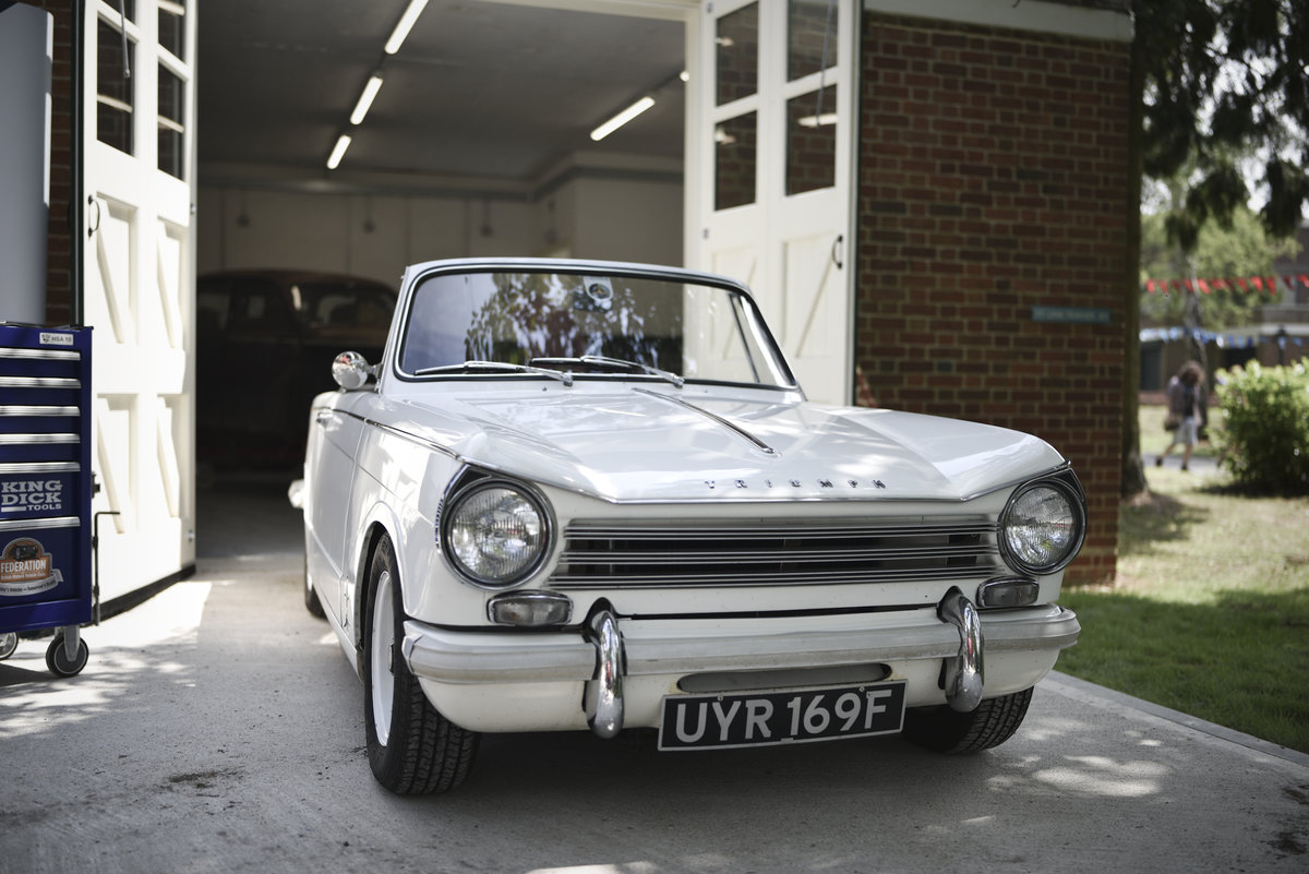 1968 Triumph Herald 13/60 convertible - properly sorted SOLD (picture 1 of 6)
