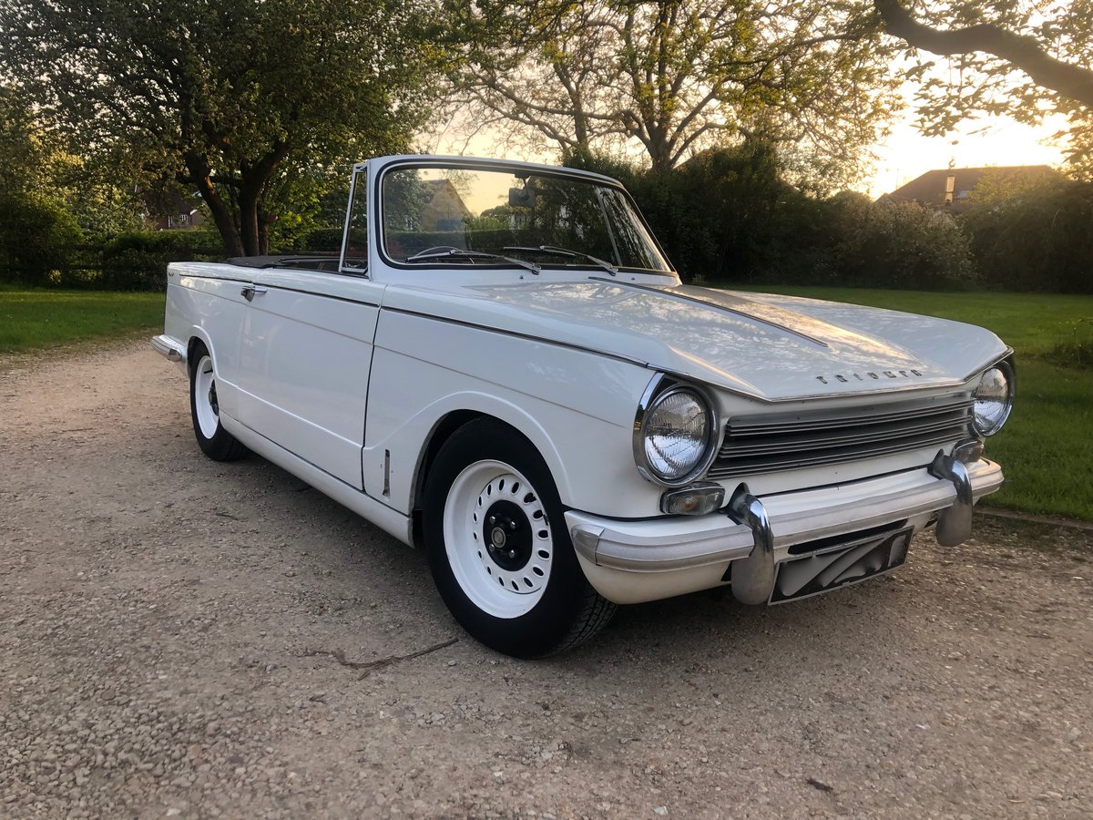 1968 Triumph Herald 13/60 convertible - properly sorted SOLD (picture 5 of 6)