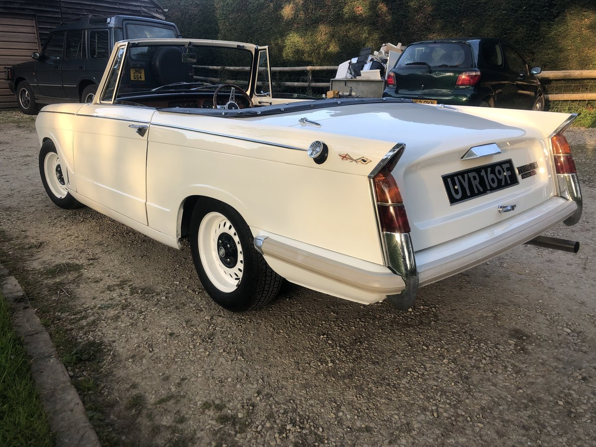 1968 Triumph Herald 13/60 convertible - properly sorted SOLD (picture 6 of 6)