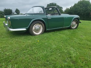 1963 TR4 for restoration