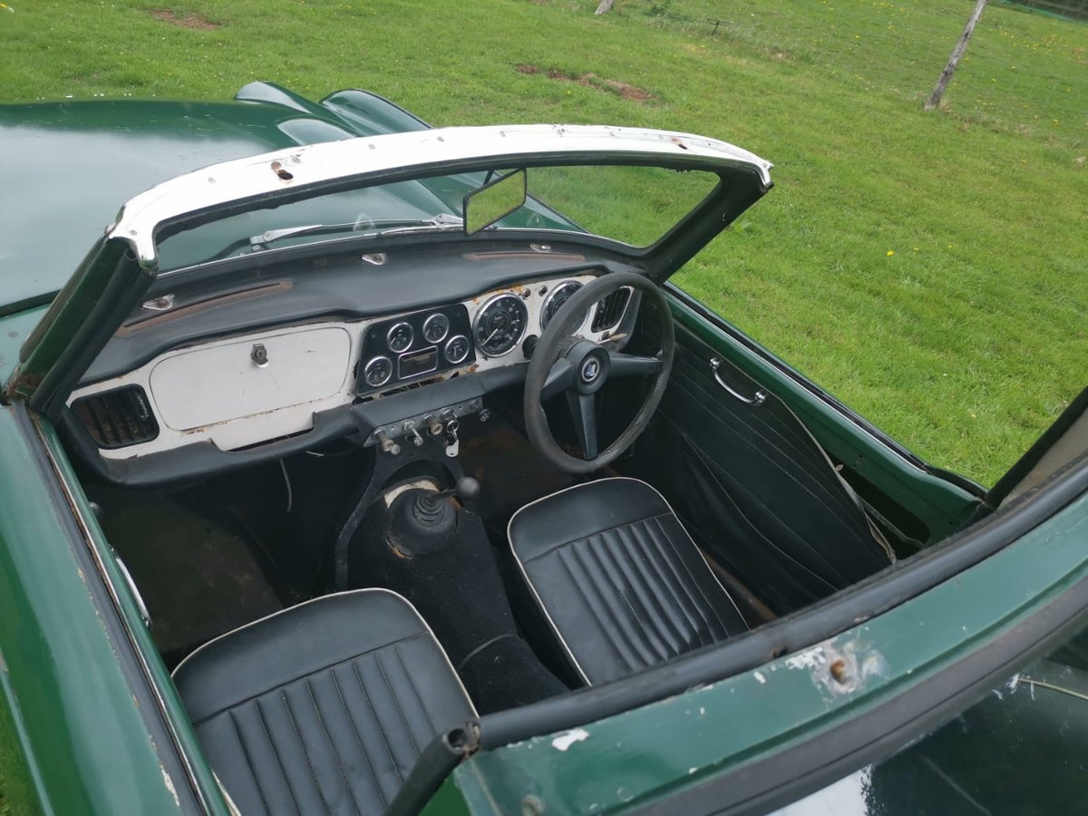 1963 TR4 for restoration For Sale (picture 5 of 6)