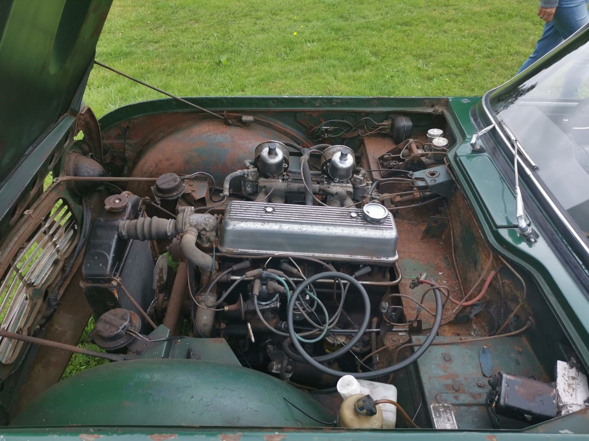 1963 TR4 for restoration For Sale (picture 6 of 6)