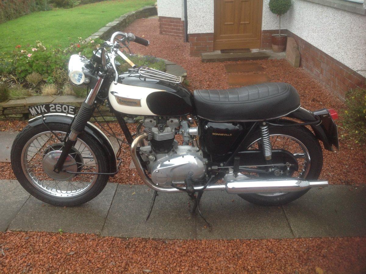 1967 T120 Bonneville SOLD (picture 1 of 5)