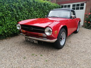 Triumph TR6 PI 150bhp CP restored car