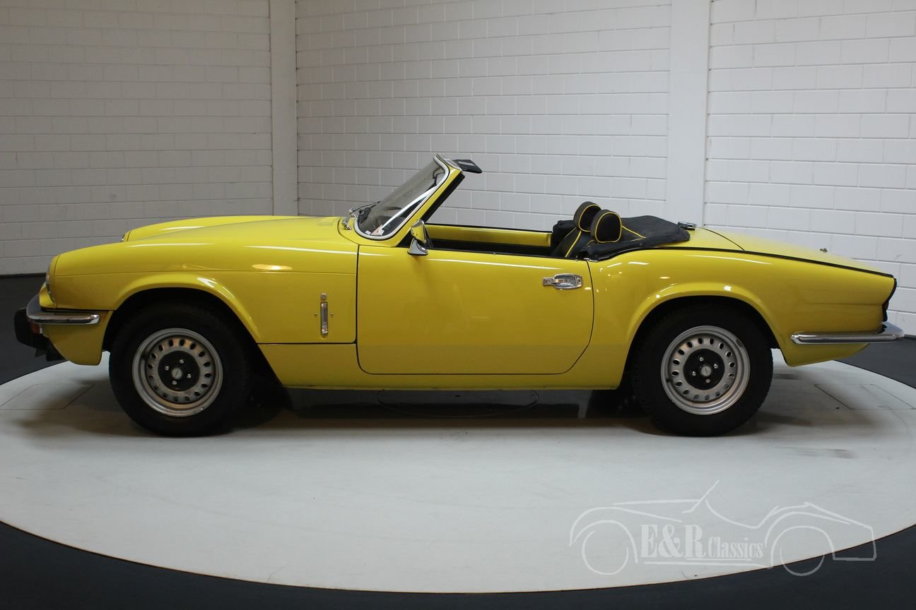 Triumph Spitfire 1500 1975 Nice condition For Sale (picture 5 of 6)