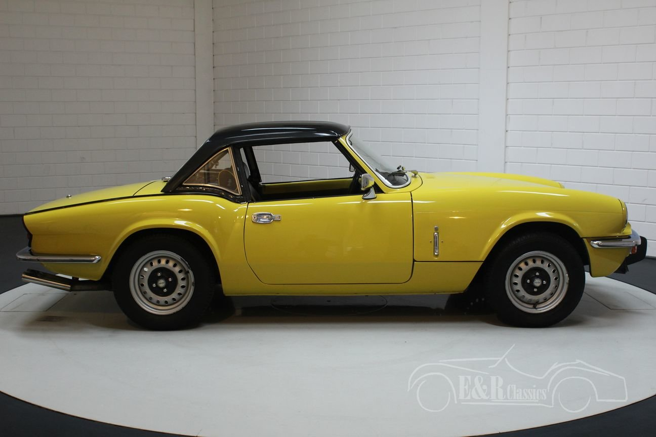Triumph Spitfire 1500 1975 Nice condition For Sale (picture 6 of 6)