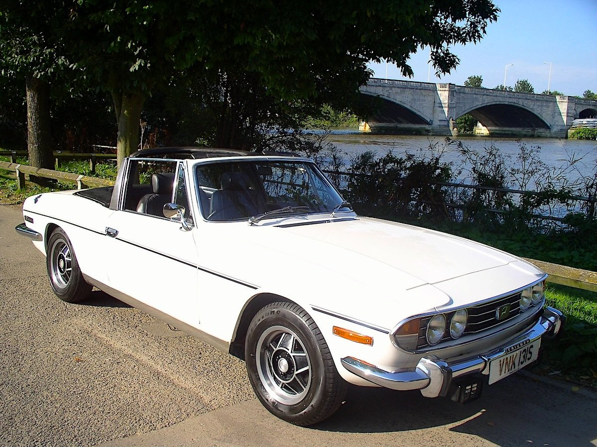 1977 Triumph Stag Automatic Convertible - Only 62,760 Miles  For Sale (picture 1 of 6)