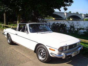 1977 Triumph Stag Automatic Convertible - Only 62,760 Miles!