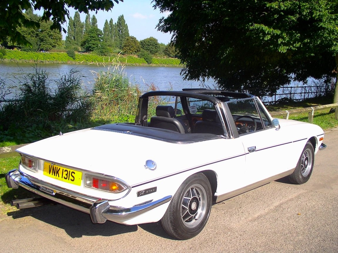 1977 Triumph Stag Automatic Convertible - Only 62,760 Miles  For Sale (picture 2 of 6)