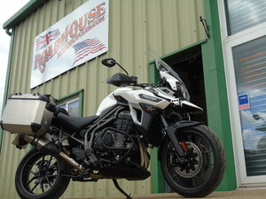 Triumph Tiger Explorer 1200 XRT Only 7000 Miles From New