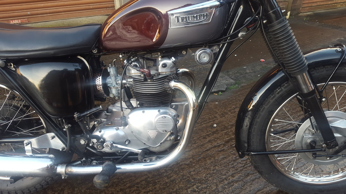 1966 Triumph 3TA 500 For Sale (picture 3 of 6)