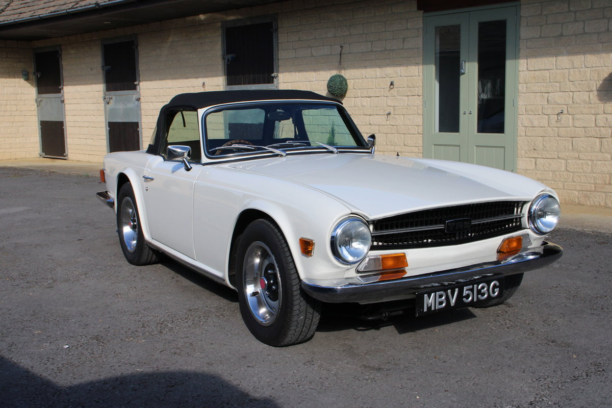 1969 TRIUMPH TR6 150 BHP  For Sale (picture 1 of 20)