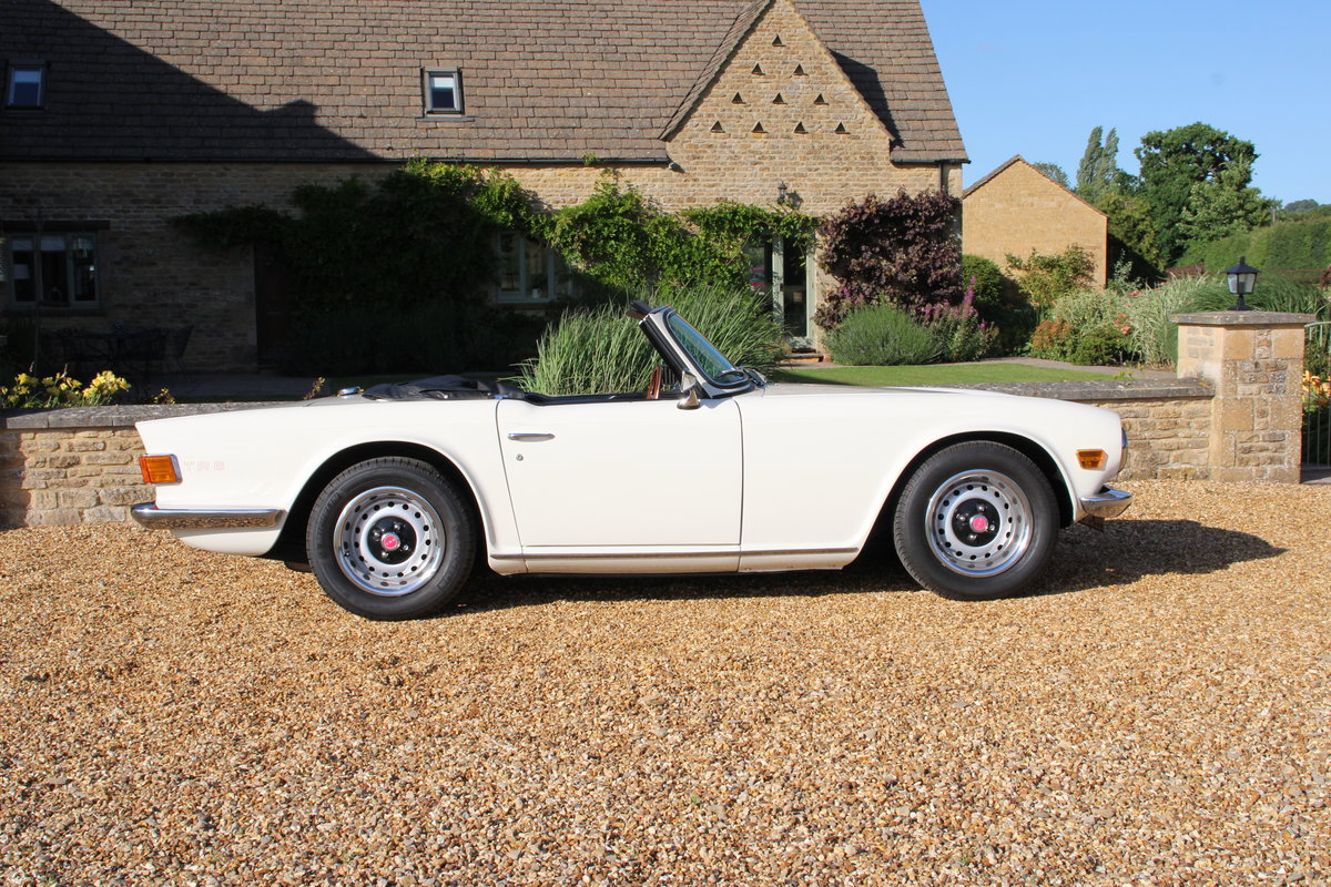 1969 TRIUMPH TR6 150 BHP  For Sale (picture 3 of 20)