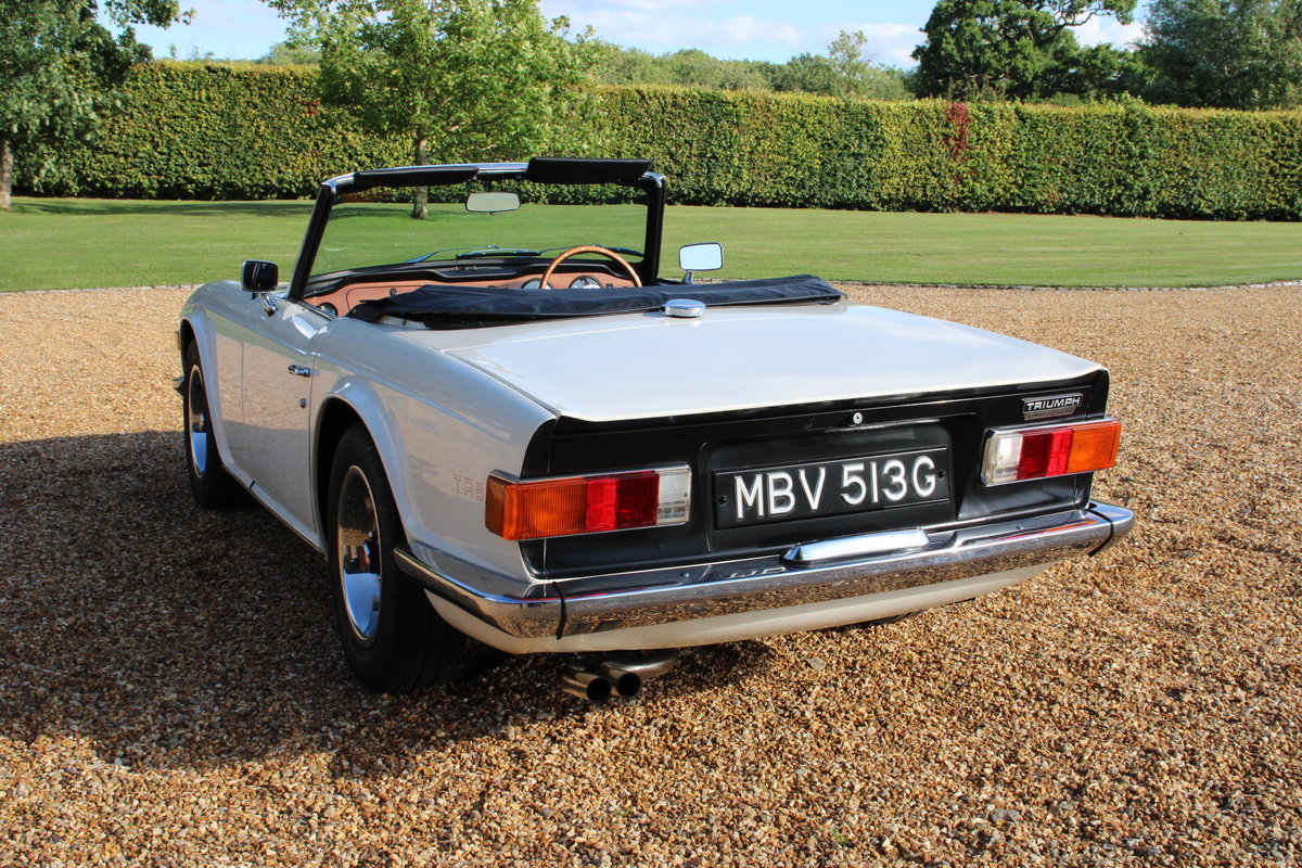 1969 TRIUMPH TR6 150 BHP  For Sale (picture 4 of 20)