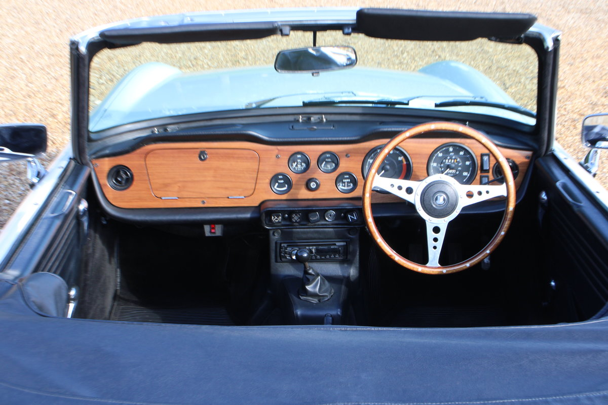 1969 TRIUMPH TR6 150 BHP  For Sale (picture 5 of 20)