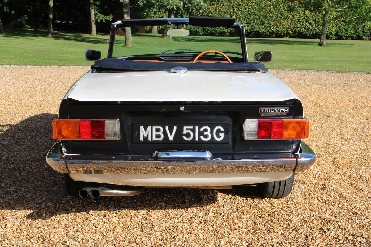1969 TRIUMPH TR6 150 BHP  For Sale (picture 6 of 20)