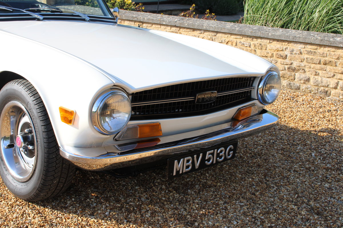 1969 TRIUMPH TR6 150 BHP  For Sale (picture 7 of 20)