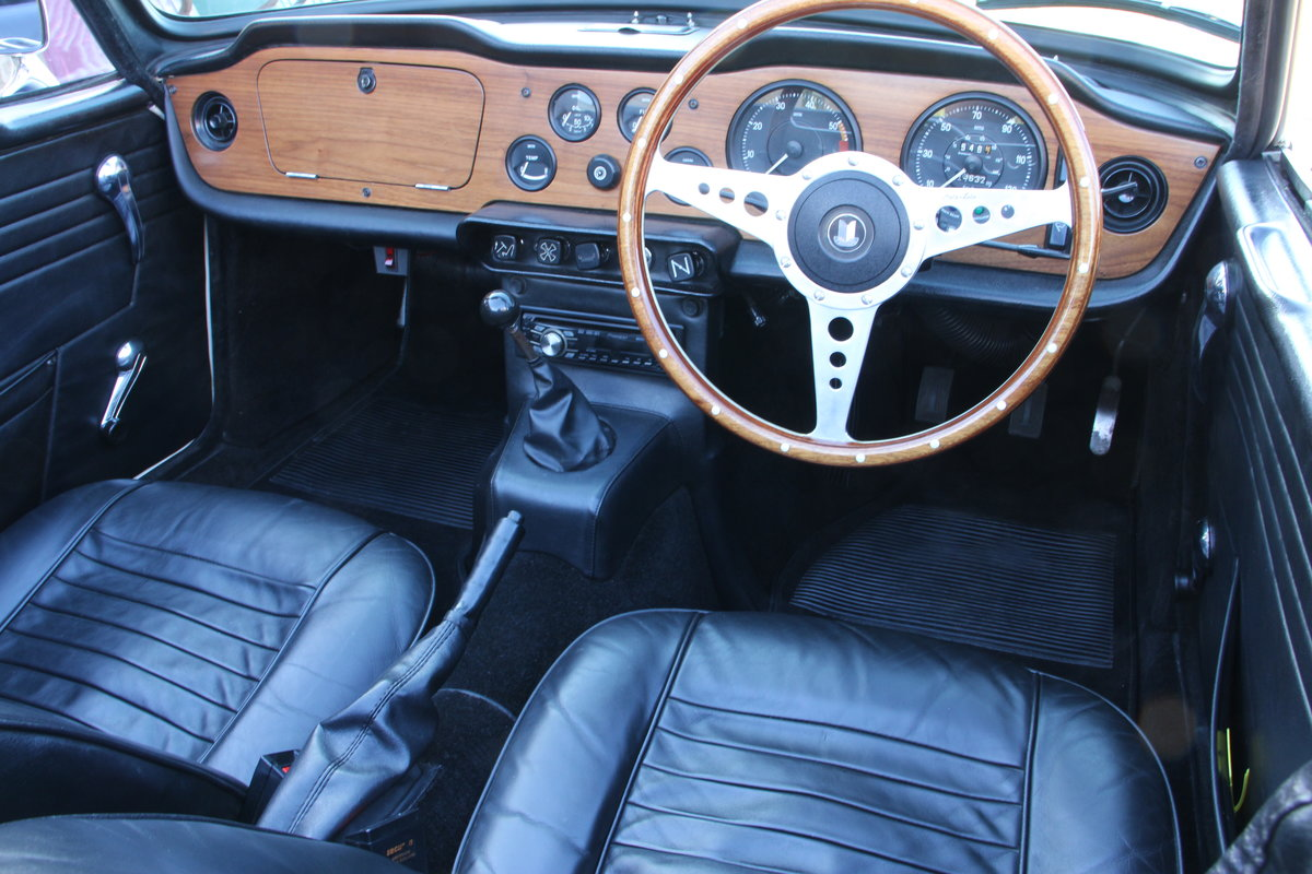 1969 TRIUMPH TR6 150 BHP  For Sale (picture 12 of 20)