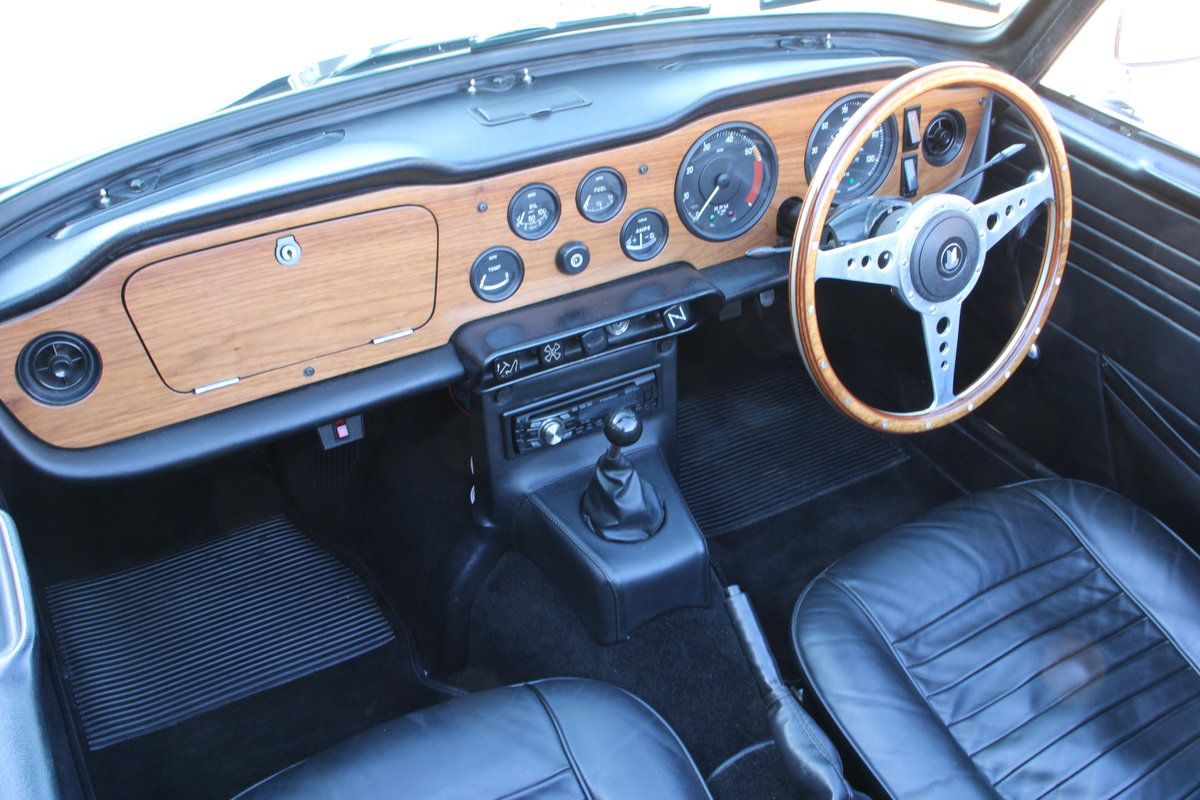 1969 TRIUMPH TR6 150 BHP  For Sale (picture 20 of 20)