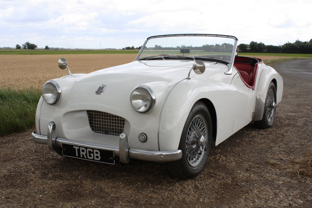 1954 TRIUMPH TR2 LONG DOOR SOLD (picture 1 of 6)
