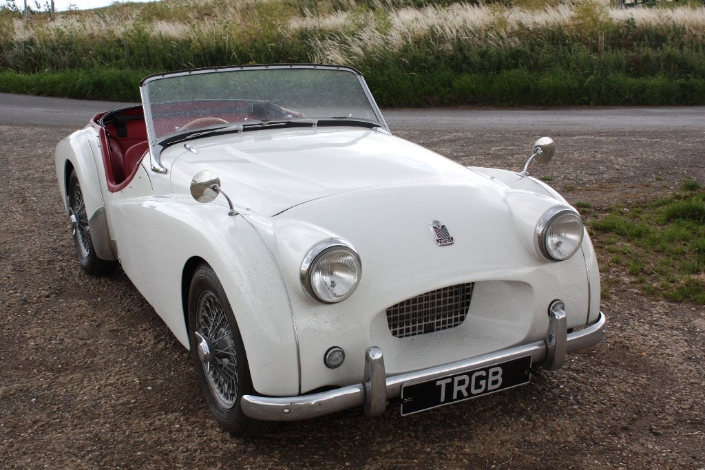 1954 TRIUMPH TR2 LONG DOOR SOLD (picture 5 of 6)