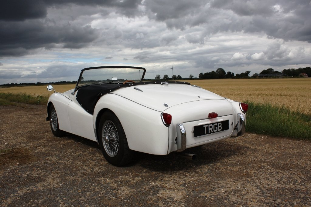 1954 TRIUMPH TR2 LONG DOOR SOLD (picture 6 of 6)