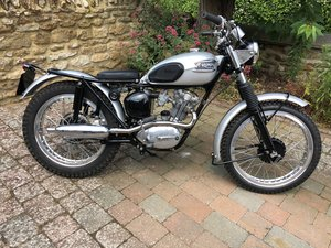 1964 Triumph T20 Tiger Cub Trials Evocation
