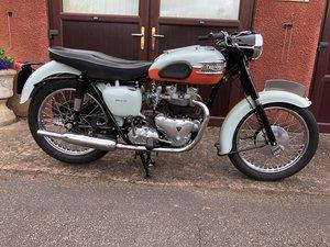 1959 Triumph T120R Bonneville